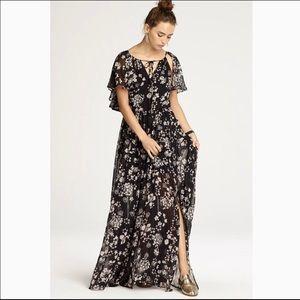 Rebecca Minkoff Maxi Kaspit Slit Dress
